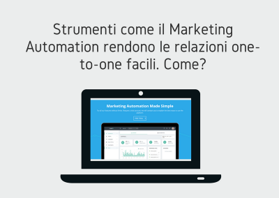 Personalizzare con il Marketing Automation