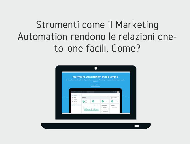 Personalizzare con il Marketing Automation
