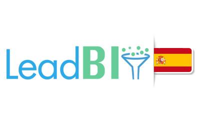 Da oggi LeadBI è disponibile anche il lingua spagnola